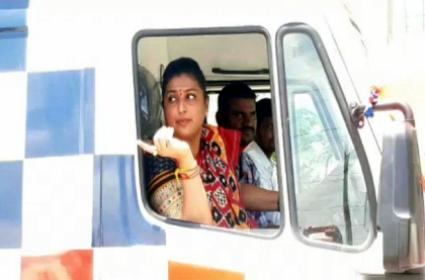 Roja Flags Off 108, 104 Ambulance Services
