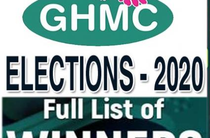 GHMC Elections 2020 : Full List Of Winning Candidates