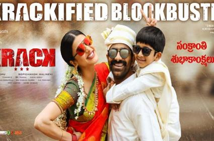 Krack First Week Collections: Mass Maharaja Ravi Teja Dominates Box Office