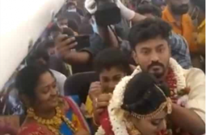Lockdown Effect: Madurai Couple Get Hitched on Flight
