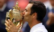 Federer dominated the final, cruising to a 6-3, 6-1, 6-4 victory in an hour and 41 minutes. This is the 19th Grand Slam title for Federer. He has now surpassed former US star Pete Sampras to win the highest number of men's singles titles at Wimbled - Sakshi Post
