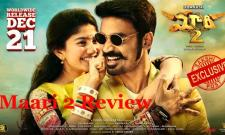Maari 2 Movie Review - Sakshi Post