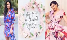 Katrina Kaif and Deepika Padukone flaunting the beautiful floral prints! - Sakshi Post