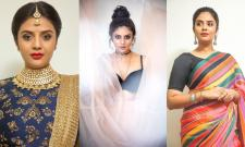Sreemukhi in different looks - Sakshi Post