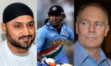 Harbhajan Singh takes a dig at Greg Chappel for claiming to challenge MS Dhoni into becoming a finisher of the game. - Sakshi Post