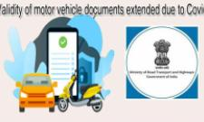 Validity of motor vehicle documents till Sept 30 due to Covid - Sakshi Post