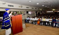 Vice President Venkaiah Naidu was the chief guest at the graduation day ceremony of Muffakham Jan College of Engineering and Technology. - Sakshi Post