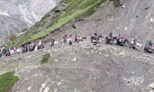 This year's Amarnath Yatra started on July 1 and will end after 45 days on August 15 coinciding with Shravan Purnima. - Sakshi Post