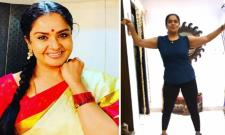 Tollywood Star Pragathi Tries Pop Dance At Home