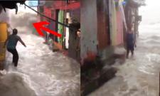 Heavy Rains Continue To Lash Mumbai, Water Gushes Into Homes