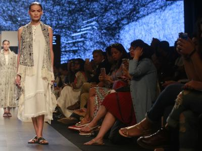 The star quotient seems to be on the rise in the ongoing Lakme Fashion Week Summer/Resort 2017. Day 3 witnessed more star-power on the ramp. - Sakshi Post