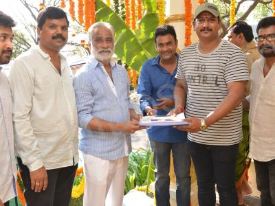 Nara Rohith's next movie, an action thriller, has been launched here on Sunday. Directed by Pawan Mallela, produced by B. Mahendra Babu, Nandamuri Srivinod and Musunuru Vamshi Krishna on SVMP banner, the movie launch was attended by VV Vinayak, KS  - Sakshi Post