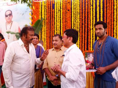 Achari America Yatra movie opening event was held in Hyderabad.Vishnu Manchu, Brahmanandam, Mohan Babu, T Subbirami Reddy, K.Raghavendra Rao graced the event. - Sakshi Post