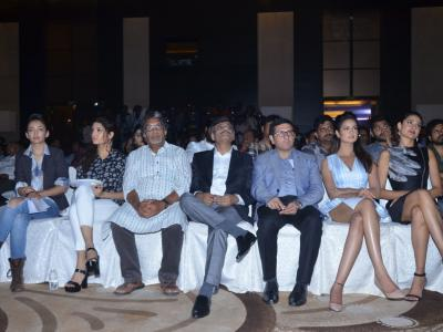 The second edition IIFA Utsavam Press meet was held at Park Hyatt in Hyderabad on Monday. Rana Daggubati, Nani, Nasser, Pragya Jaiswal, Akshara Haasan were present. Rana Daggubati will be hosting the Tamil and Telugu sections of the award function.&a - Sakshi Post