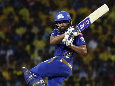 In a key match for Mumbai Indians, the side led by Rohit Sharma defeated Chennai Super Kings by 46 runs. - Sakshi Post