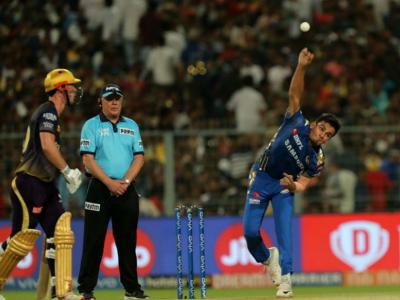 Kolkata Knight Riders remained in contention defeating Mumbai Indians by 34 runs in a thriller on Sunday night. - Sakshi Post