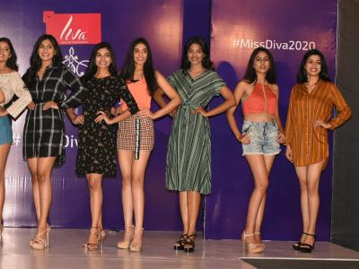 In Pics: Miss Diva 2020 Hyderabad Auditions  - Sakshi Post