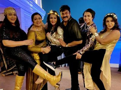 Chiranjeevi's Grand '80s Reunion Bash Pictures You Can't Miss - Sakshi Post