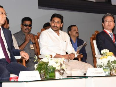 Pictures| YS Jagan At The Grand Opening Ceremony Of Kia Motors India - Sakshi Post