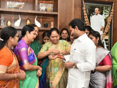 YSRCP Women MLAs' Thank  CM YS Jagan For Introducing AP Disha Act 2019 - Sakshi Post