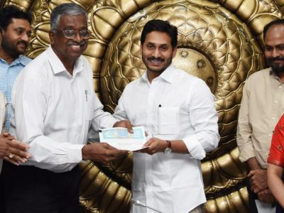 In Pictures | YS Jagan Review Meeting On Connect To Andhra & Nadu Nedu Initiative  - Sakshi Post