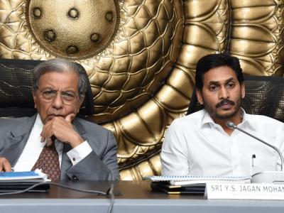 Pictures | AP CM YS Jagan Mohan Reddy Meeting With NK Singh-Chairman, 15th Finance Commission  - Sakshi Post