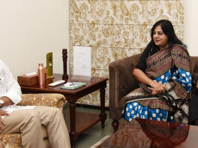 AP CM YS Jagan Meets British Council Director-South - Sakshi Post
