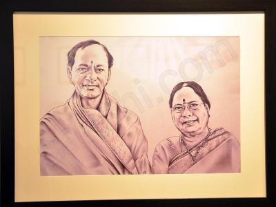 Photos: KCR's Life Portrayed In Exhibition - Sakshi Post