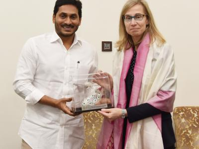 CM YS Jagan Meeting With Canadian Consulate Officials - Sakshi Post