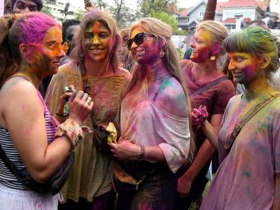Colorful Holi 2020 Celebrations In Hyderabad - Sakshi Post