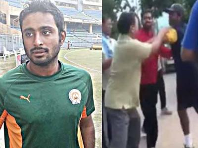 Hyderabad Ranji cricketer and IPL player Ambati Rayudu appears to be embroiled in a controversy after he allegedly abused a senior citizen near Habsiguda while he was returning from a morning practice session at Uppal Stadium on Thursday. &nb