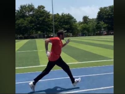 Bollywood Actor Anil Kapoor's New Running Video Goes Viral