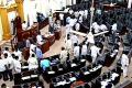 Iron rod comes unstuck in assembly hall - Sakshi Post