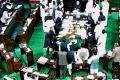 Question Hour disrupted in RS over naming of Hyderabad airport - Sakshi Post
