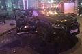 The car that claimed the lives of five people and critically injured two women in the  Ukrainian city of Kharkiv. - Sakshi Post