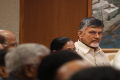 TDP chief and Andhra Pradesh Chief Minister N Chandrababu Naidu  during a meeting of opposition parties - Sakshi Post