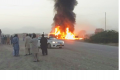 A huge fire erupted after the accident as the tanker was carrying Iranian diesel - Sakshi Post