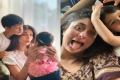 Shilpa Shetty and Kareena Kapoor with kids - Sakshi Post