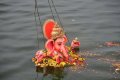 GHMC Removes Over 83K Ganesha Idols from Hyderabad Lakes and Ponds - Sakshi Post