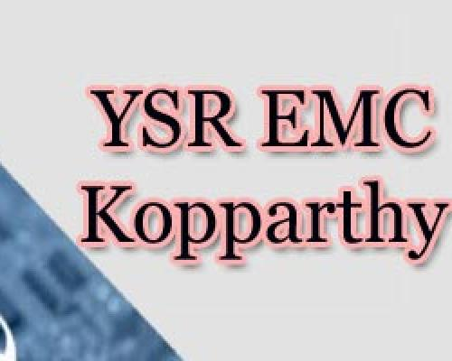 Kopparthy YSR EMC Cluster Gets Centre Approval And Grant Of Rs 350 Crore - Sakshi Post