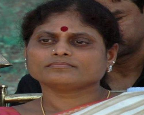 YSRCP leader YS Vijayamma Slams TDP, Its Media For Targetting YSR Family With Fake News - Sakshi Post