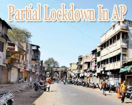 COVID-19: Andhra to go under partial lockdown from May 5, shops to be shut after noon - Sakshi Post