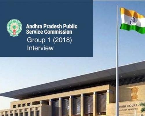 High Court Stay On Andhra Pradesh Group 1 Services Exam 2018 Interview Process - Sakshi Post