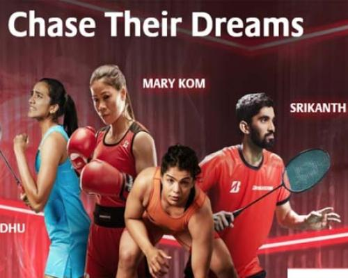 Sports Icons tell their story in Bridgestone India's motivational campaign - Sakshi Post