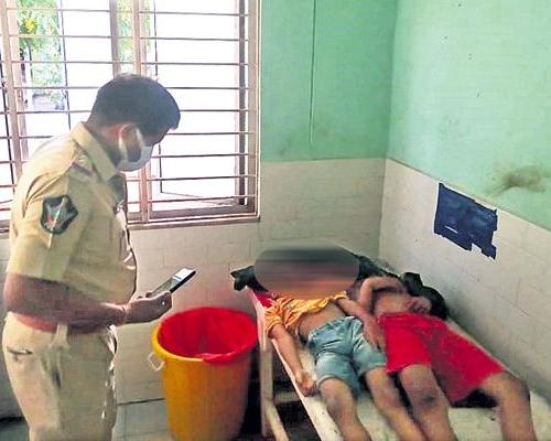 Mentally Unstable Uncle Thrashes Boys To Death in Repalle - Sakshi Post