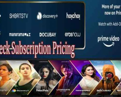 Amazon Announces Prime Video Channels, Check subscriptions, annual pricing - Sakshi Post