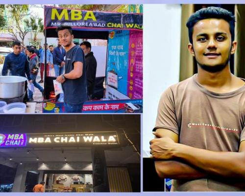 Student Who Failed CAT Turns Millionaire With MBA Chai Stall - Sakshi Post