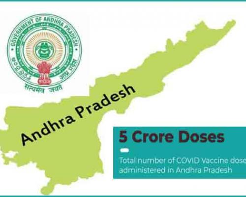 AP Crosses 5 Crore In COVID Vaccine Doses, Joins Top 10 States In Vaccination Drive - Sakshi Post