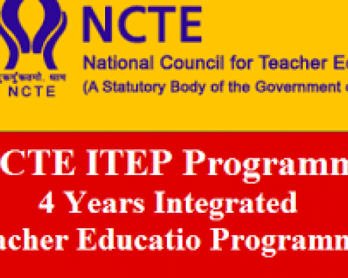 Four Year Integrated Teacher Education Programme ITEP, Who Can Apply - Sakshi Post