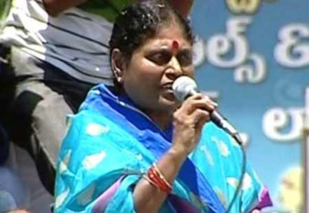 Jagan's victory is people's victory: Vijayamma - Sakshi Post